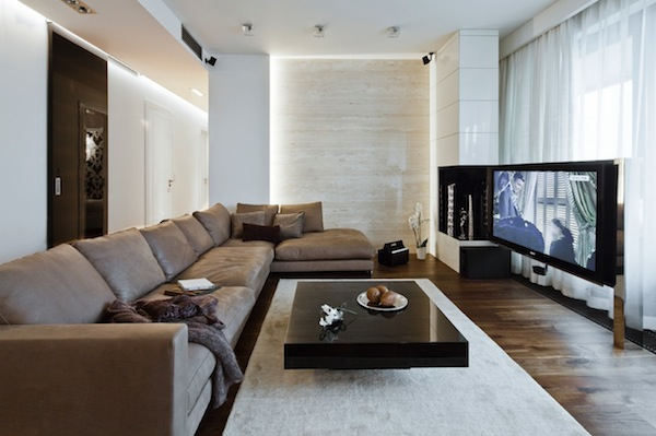 12 Elegant Pictures Of Modern Apartment In Poland