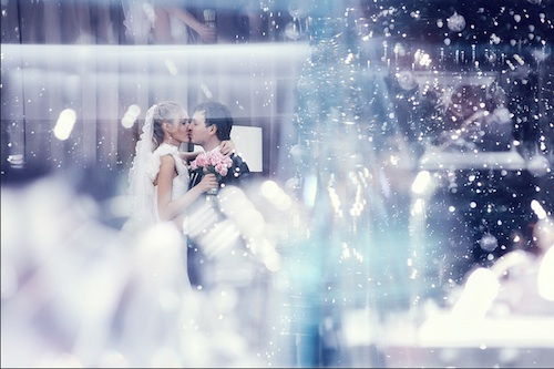 Wedding In Cold Photography