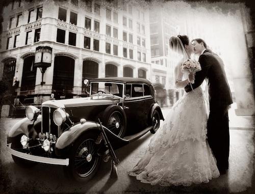 Gangster Vintage Wedding  Photography