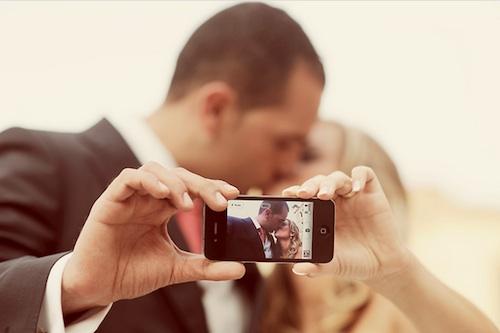 iPhone Wedding Photography