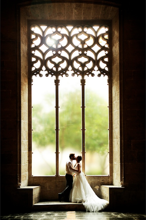 Love in Window Photography