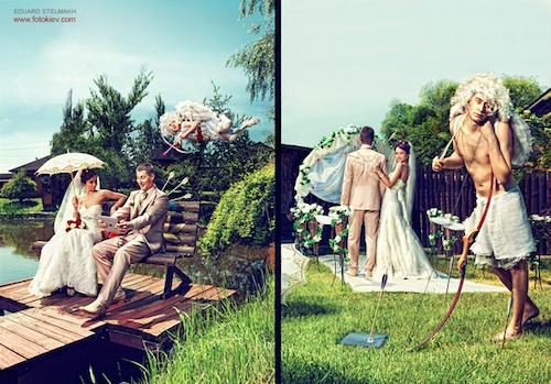 Wedding story angel photography