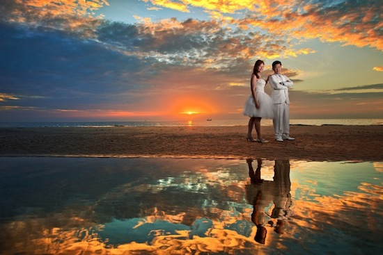 Sunset Pre-Wedding Photography