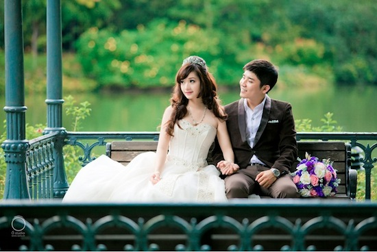 Pre-Wedding in a Singapore park