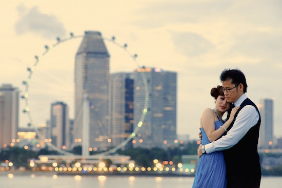 Singapore's Eye Pre-Wedding Photography