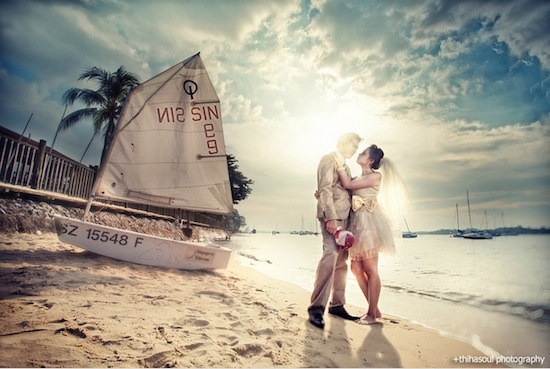 Pre-Wedding Photography in a Beach
