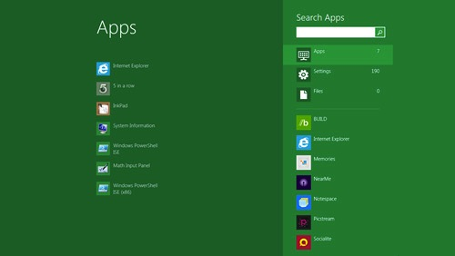 Better Search Functions in New Windows 8