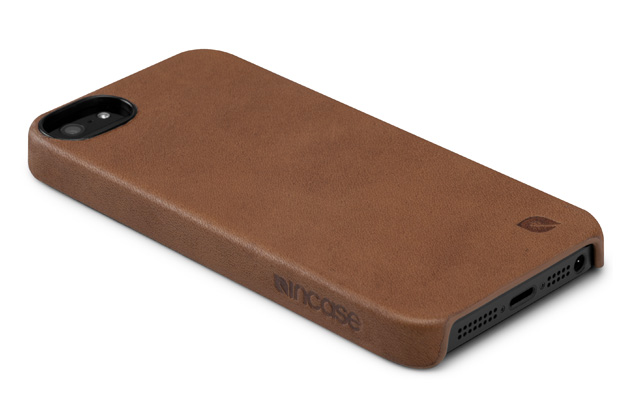 incase leather snap grip case for iphone 5