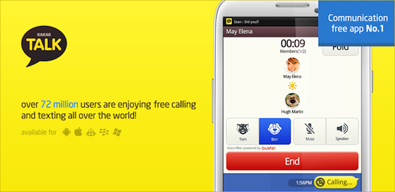 KakaoTalk Free Calls & Text Application