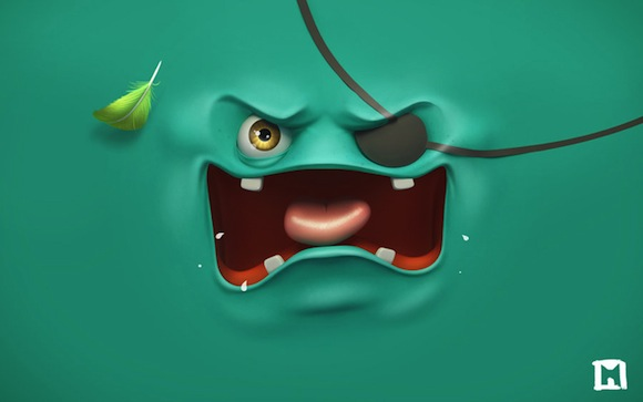 Green Angry HD Wallpaper