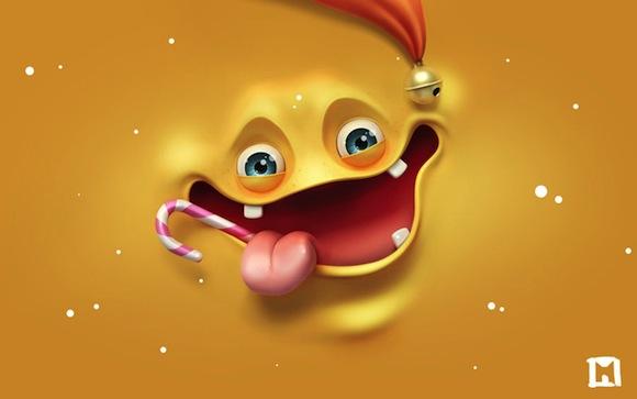 Yellow Christmas HD Madness Wallpaper