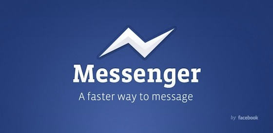 Facebook Messenger application