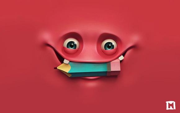 Red Happy HD Wallpaper