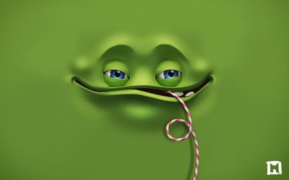 Green Joyful HD Wallpaper