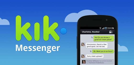Kik Messenger application
