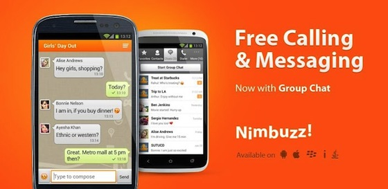 Nimbuzz Messenger Application