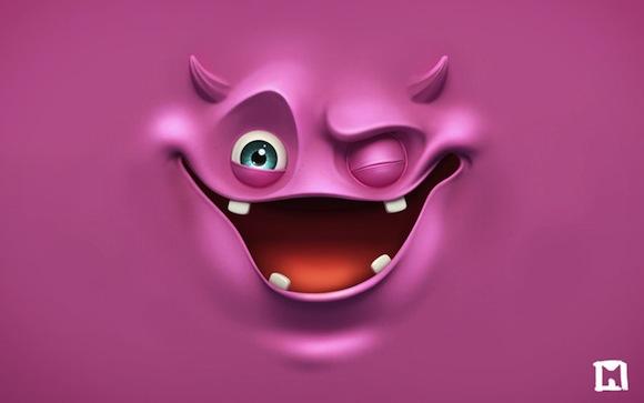 Pink Wink HD Wallpaper