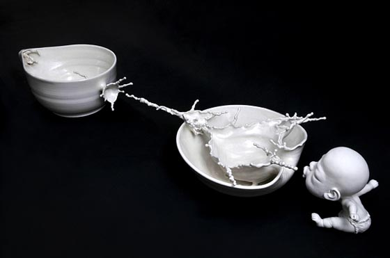 Splash of Wonder Sculptures by Johnson Tsang