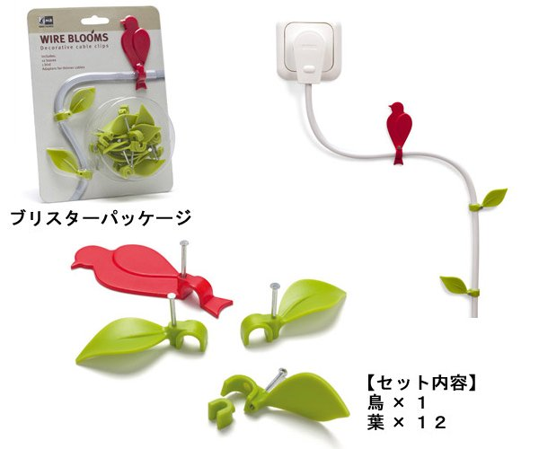 Wire Bloom Cable Clips