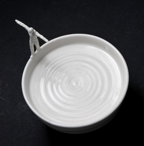 Bowls of Fantasy Sculptures by Johnson Tsang