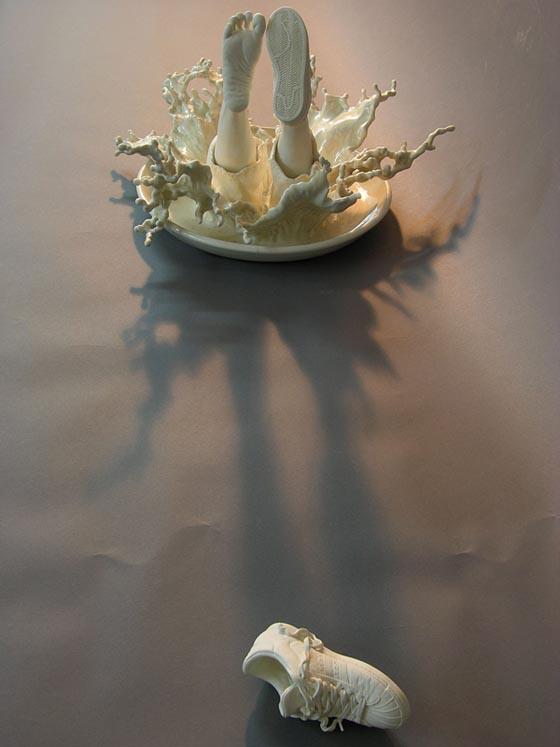 Escapism Sculptures by Johnson Tsang