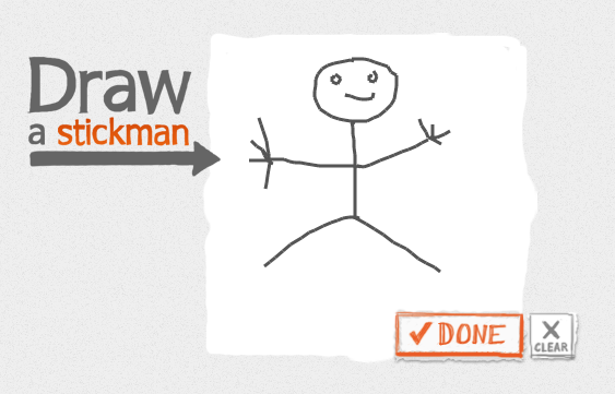 Play on PC or Laptop draw a stickman