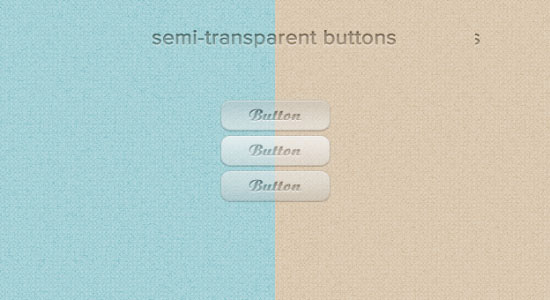 Semi-transparent Buttons