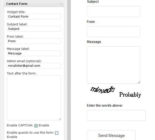 WP Contact - Ajax Contact Form