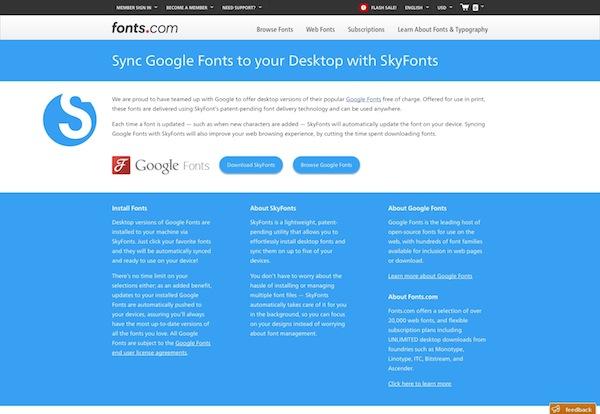 Google Free Fonts