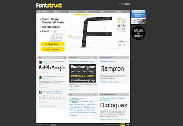 Fontstruct Free Font