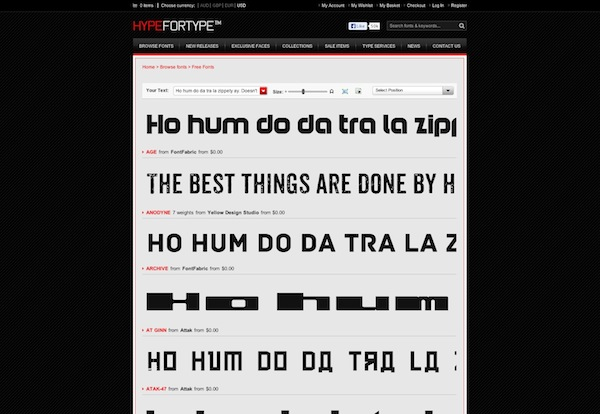 Hype For Type Free Font