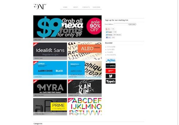 Font Fabric Free Fonts