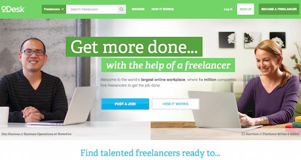O Desk online making money website