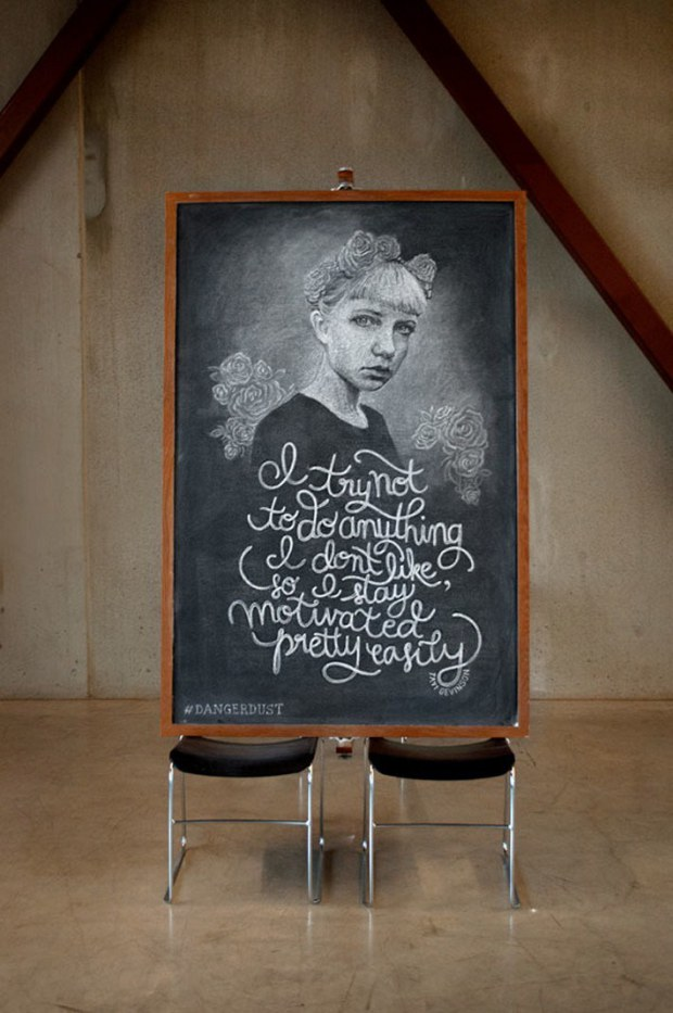 Inspirational Chalkboard Quotations 14