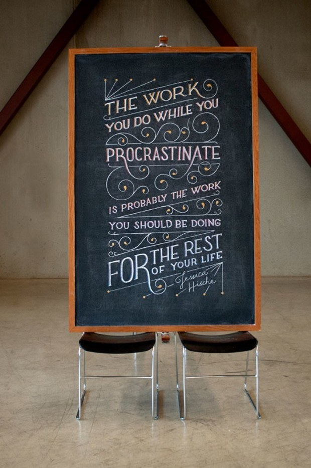Inspirational Chalkboard Quotations 16