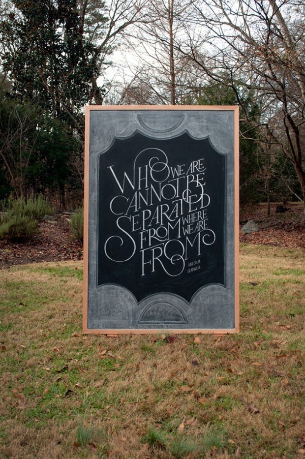 Inspirational Chalkboard Quotations 2