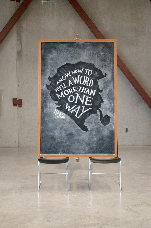 Inspirational Chalkboard Quotations 20