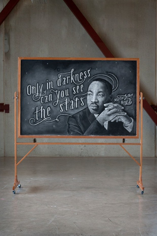 Inspirational Chalkboard Quotations 21