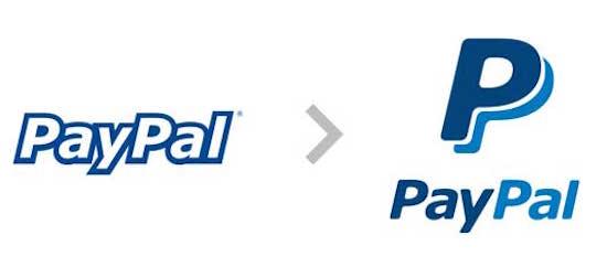 old paypal logo