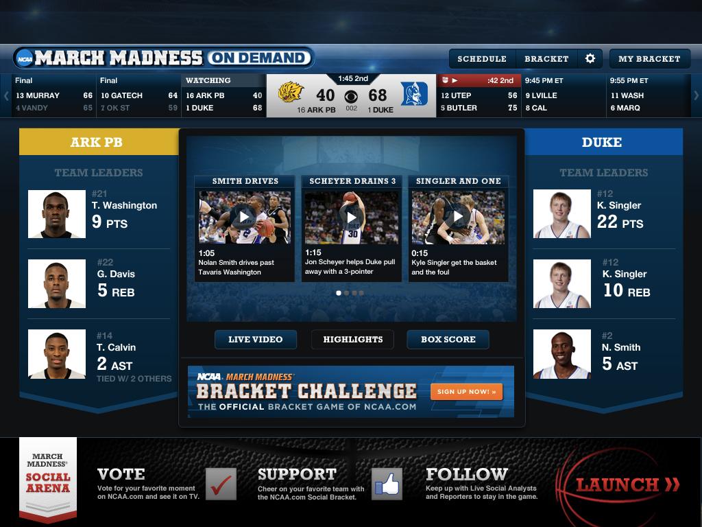 Streaming sports on ipad flash