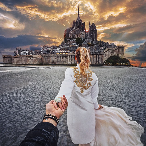 6. Le Mont Saint-Michel, France
