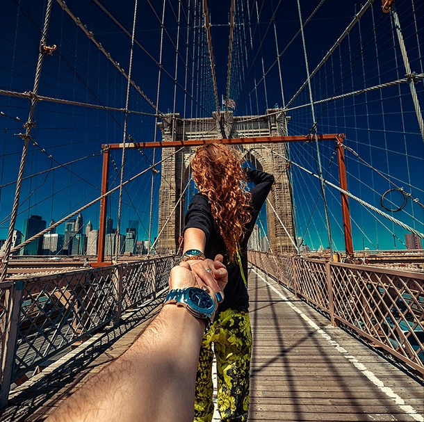 11. The Brooklyn Bridge, New York City