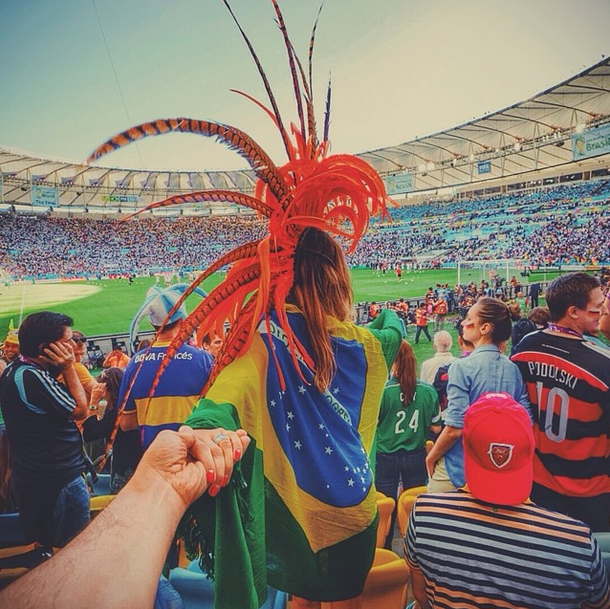 17. FIFA World Cup 2014, The Maracana Stadium