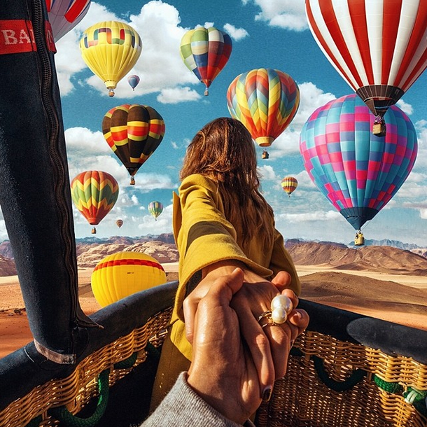 18. Hot Air Ballon in Jordan