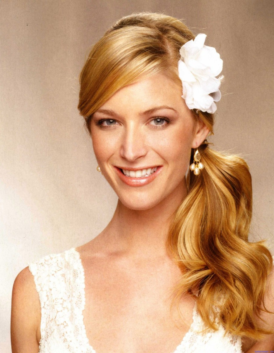 2014 Bridal Wedding Hairstyles For Long Hair 900×1158