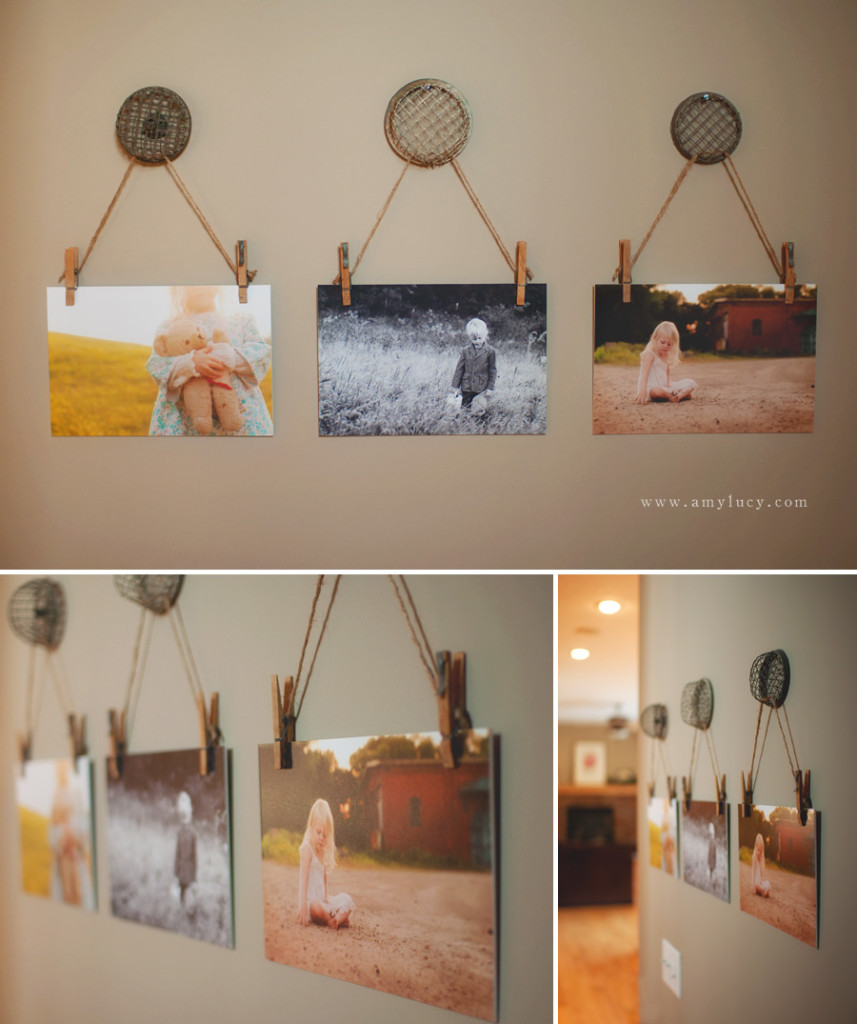 25 creative diy home decor ideas you should try blogrope for Ideas for pictures