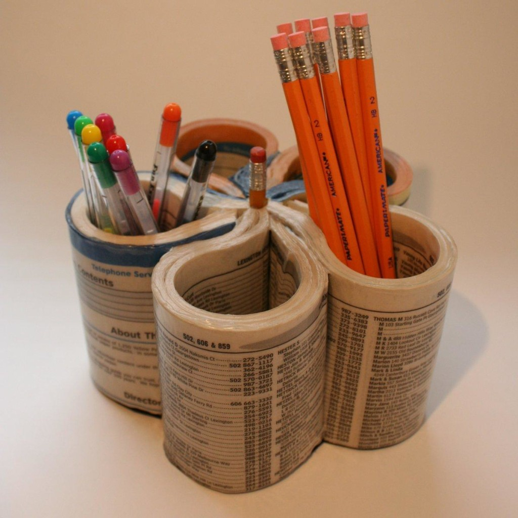 7phone director pen and pencil holder - Diy Home Design Ideas