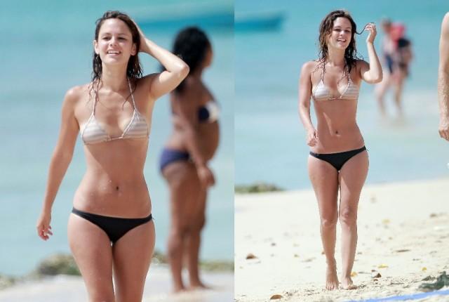25 Actresses in their Sexy Bikini Bodies - Blogrope  Rachel Potter Bikini