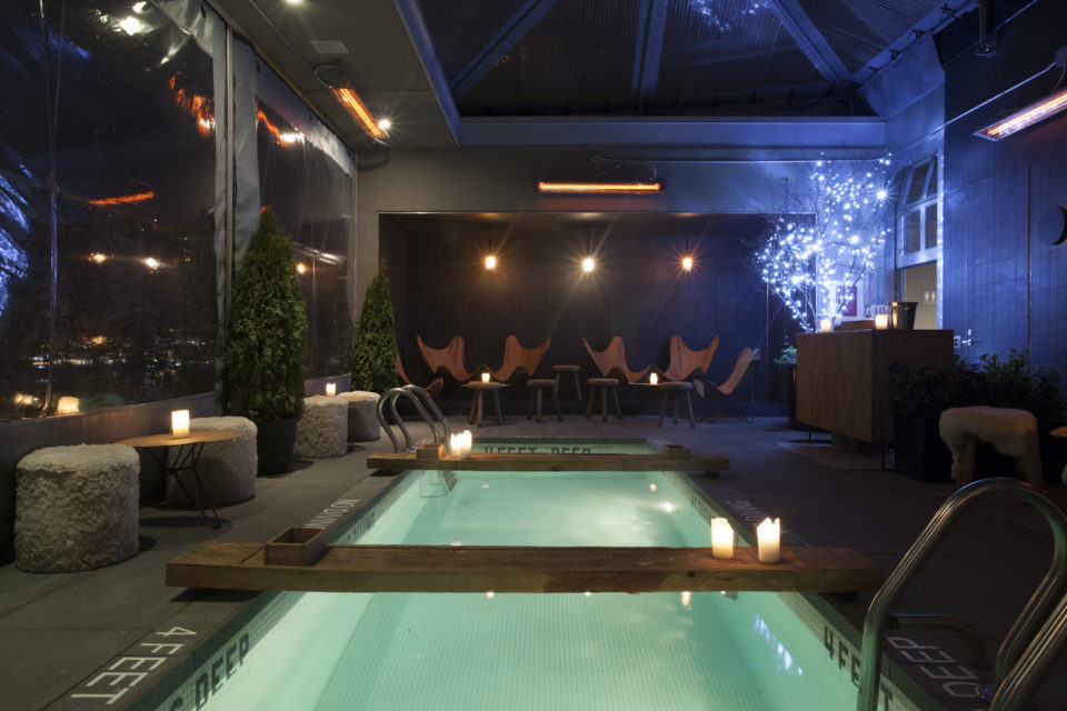 Beat the heat with 14 most coolest rooftop pools of nyc for La piscine pool