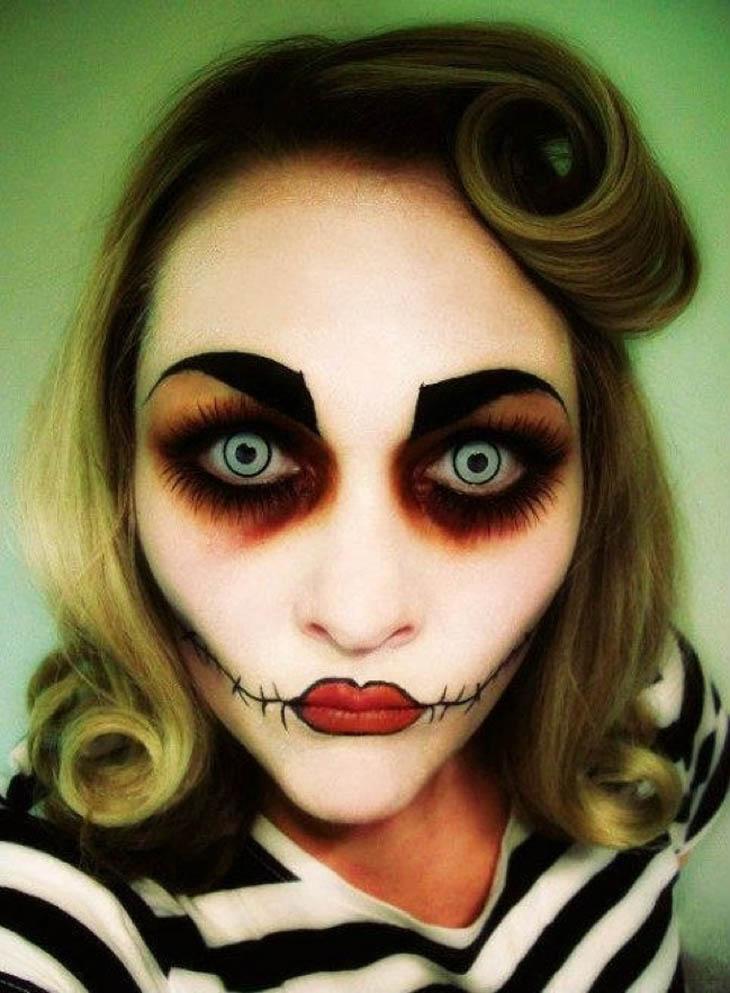 30 Scariest Halloween Makeup Ideas For Both Men Amp Women